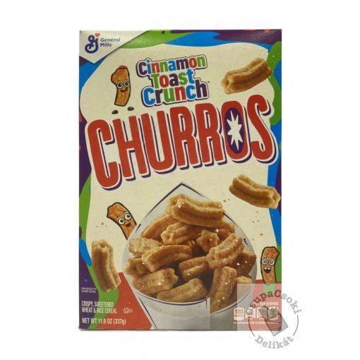 Cinnamon Toast Crunch Churros Fahéjas müzli 337g