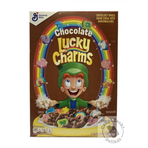 Lucky Charms Chocolate Müzli Kakaós gabonapehely pillecukorral 311g