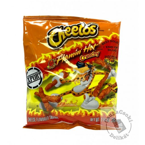 Cheetos Flamin' Hot Crunchy 35,4g