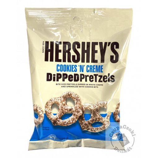 Hershey's Cookies&Creme Pretzels Fehércsokis perec 120g