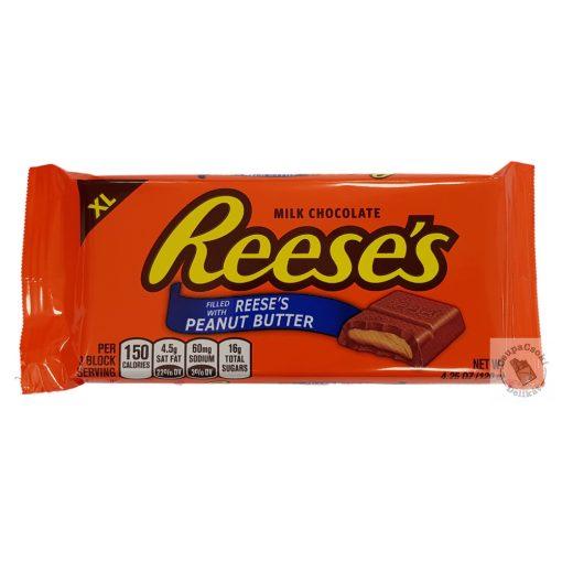 Reese's XL Bar Táblás tejcsokoládés mogyoróvajas töltelékkel 120g