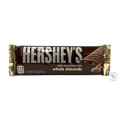 Hershey's Whole Almonds Tejcsokoládé egész mandulával 41g