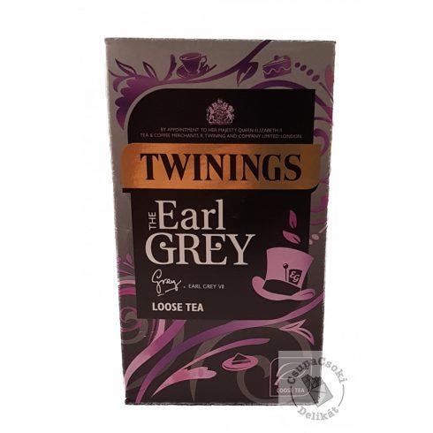 Twinings Earl Grey Szálas fekete tea 125g