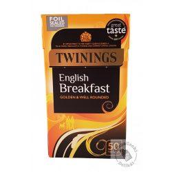 Twinings English Breakfast Fekete tea 50 filter, 125g