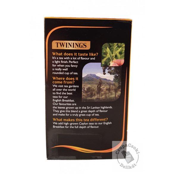 Twinings English Breakfast Szálas feketet tea 125g