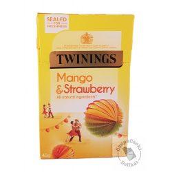 Twinings Mango&Strawberry Gyümölcstea mangóval és eperrel 20 filter, 40g