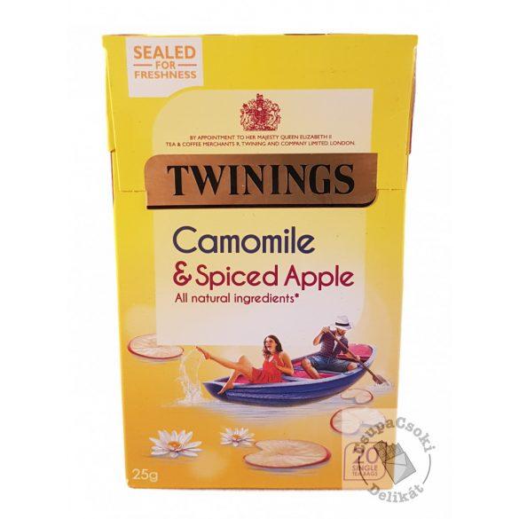 Twinings Camomile&Spiced Apple Gyümölcstea kamillával és fűszeres almával 20 filter, 25g