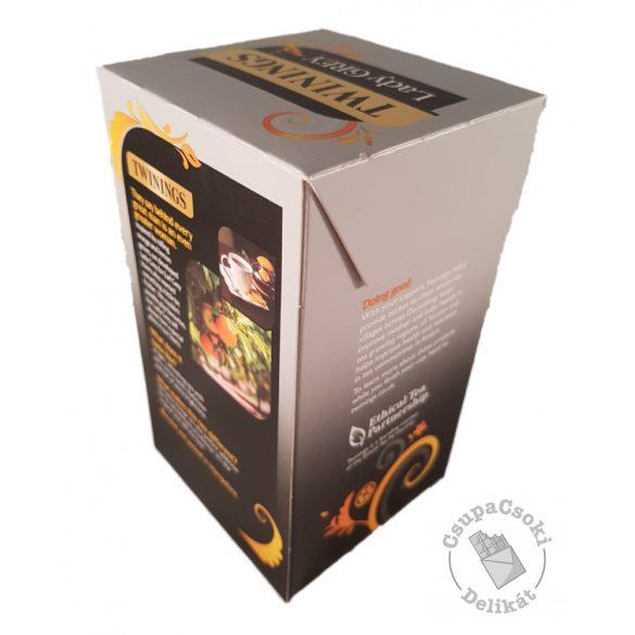 Twinings Lady Grey Fekete tea naranccsal és citrommal 50 filter, 125g