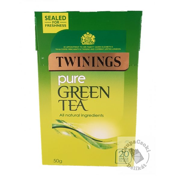 Twinings Pure Zöld tea 20 filter, 50g