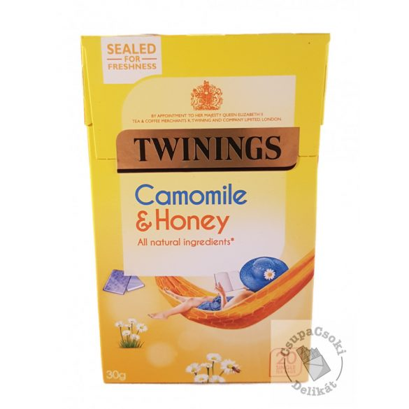 Twinings Camomile&Honey Gyümölcstea kamillával és mézzel 20 filter, 30g