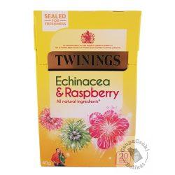 Twinings Echinacea&Raspberry Gyümölcstea echinacea-val és málnával 20 filter, 40g