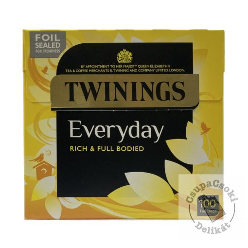 Twinings Everyday Fekete tea 100 filter