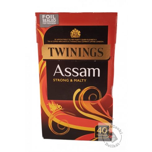 Twinings Assam Fekete tea 40 filter, 100g