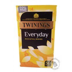 Twinings Everyday Fekete tea 50 filter, 145g