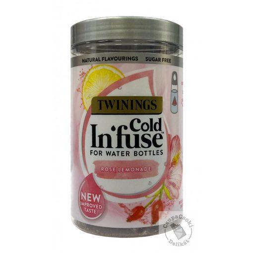 Twinings Cold Infuse Gyümölcstea csipkebogyó-hibiszkusz hideg vízhez 12 filter, 30g
