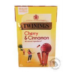 Twinings Cherry&Cinnamon Gyümölcstea cseresznyével és fahéjjal 20 filter, 40g