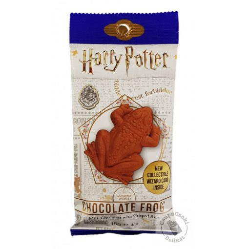 Jelly Belly Harry Potter Chocolate Frog Csokoládé béka varázslókártyával 15g
