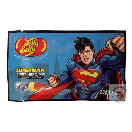 Jelly Belly Super Hero Mix SUPERMAN Cukorka 6 féle ízben 28g