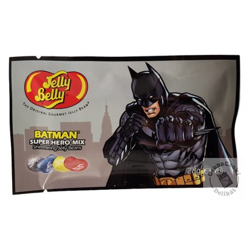 Jelly Belly Super Hero Mix BATMAN Cukorka 6 féle ízben 28g
