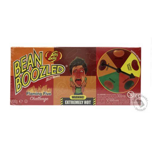 JellyBelly Bean Boozled Flaming Five Cukorka játékkal 100g