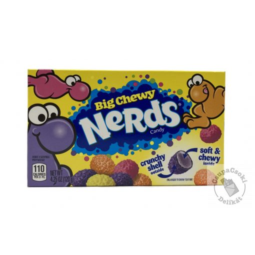 Nerds Big Chewy Cukorka 120g