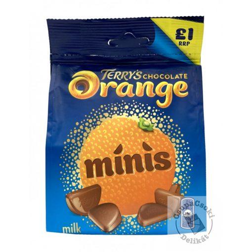 Terry's Chocolate Orange Minis Narancsos tejcsoki szeletek 95g