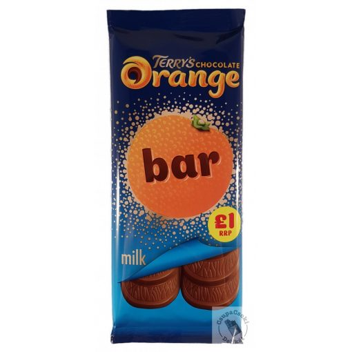 Terry's Chocolate Orange Narancsos táblás tejcsoki 90g