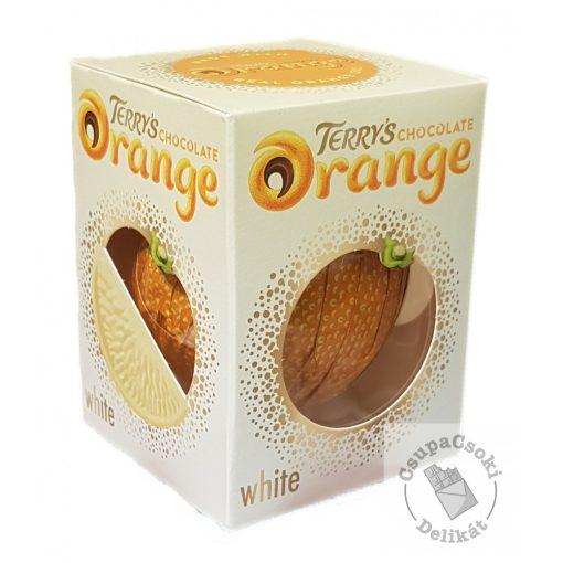 Terry's Chocolate Orange White Narancsos fehércsokoládé golyó 147g