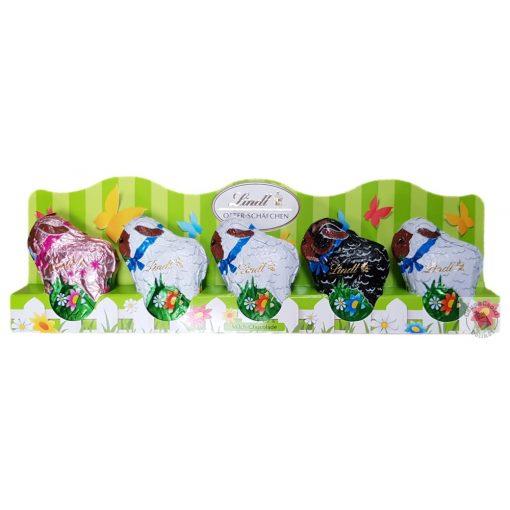 Lindt Húsvéti tejcsoki bárányok 5x10g