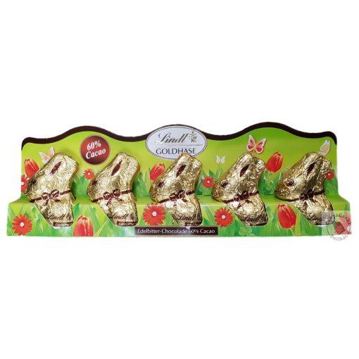 Lindt Húsvéti étcsoki nyuszi 5x10g