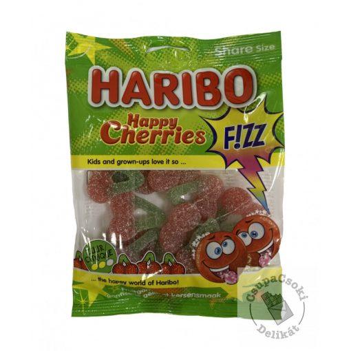 Haribo Happy Cherries Fizzy Gumicukor 200g