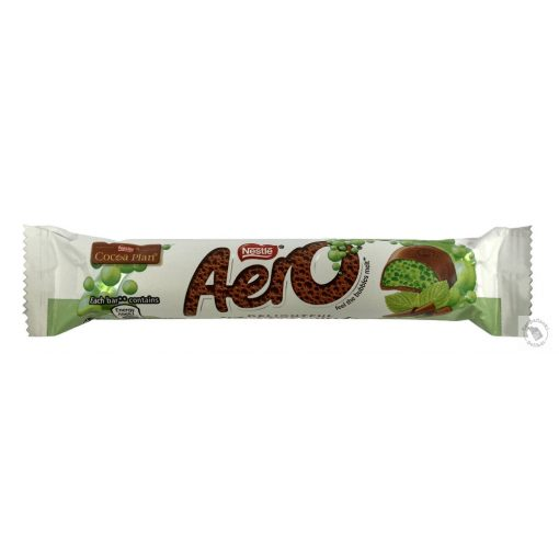 Nestle Aero Tejcsokoládé mentás szelet 27g