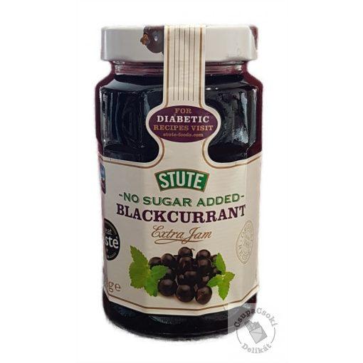 Stute Blackcurrant Jam NAS Feketeribizli lekvár hozzáadott cukor nélkül 430g