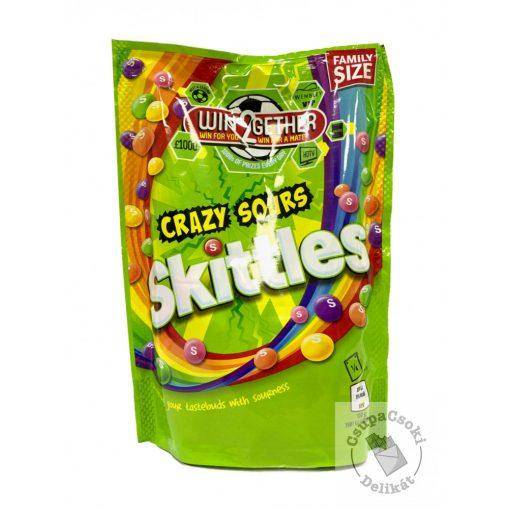 Skittles Sours Cukorka savanyú ízesítéssel 196g