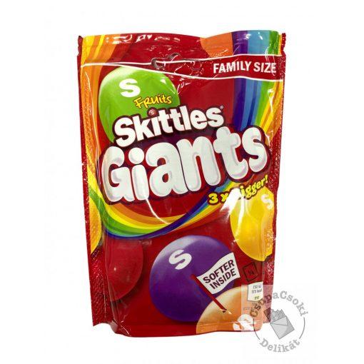 Skittles Fruits Giants Cukorka gyümölcsös ízesítéssel 170g