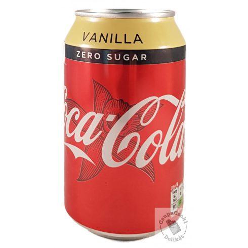 Coca-Cola Zero Vanilla 330ml