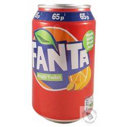 Fanta Twist Gyümölcsös szénsavas üdítő 330ml