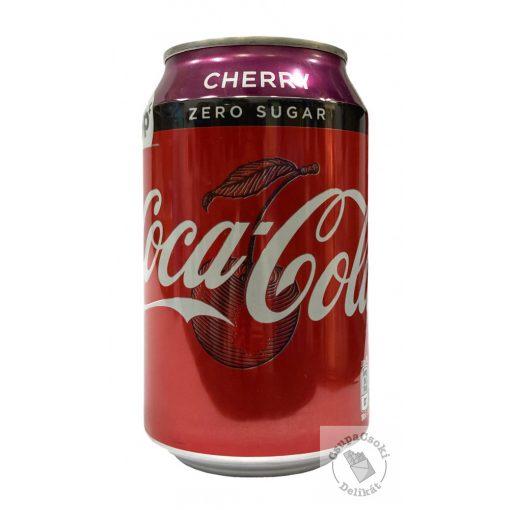 Coca-Cola Zero Cherry 330ml