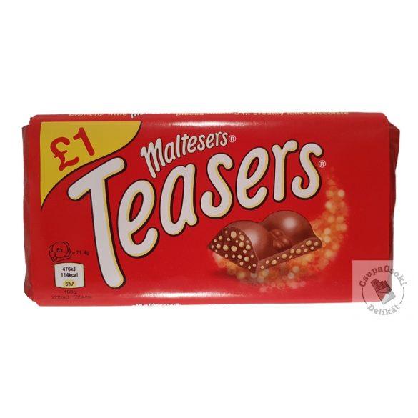 Maltesers Teasers Tejcsokoládé törökmézdarabokkal 100g