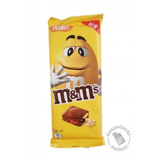 M&M's Peanut Táblás tejcsokoládé mogyoróval 165g