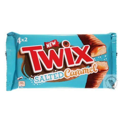 Twix Salted Caramel Sós karamellás kekszes szelet 4db-os 184g
