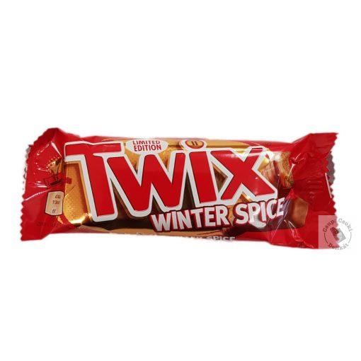 Twix Winter Spice Fűszeres kekszes karamellás szelet 46g