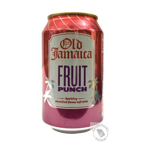 Old Jamaica Fruit Punch Gyümölcsös szénsavas üdítő 330ml