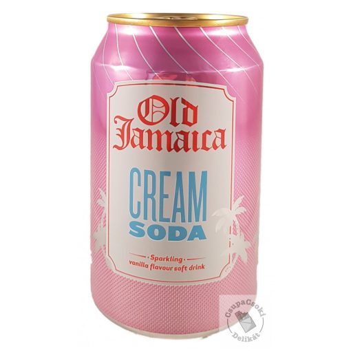 Old Jamaica Cream Soda Szénsavas üdítő 330ml