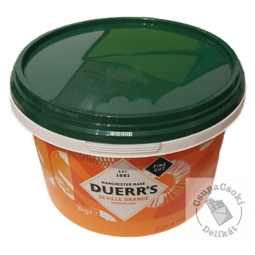 Duerr's Seville Orange Fine Cut Narancslekvár 3kg