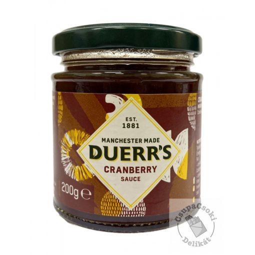 Duerr's Cranberry Sauce Áfonya szósz 200g
