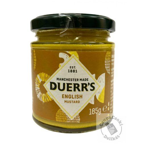 Duerr's English Mustard Angol mustár 185g