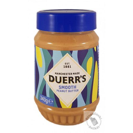 Duerr's Smooth Peanut Butter Mogyoróvaj 340g