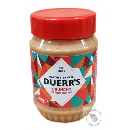 Duerr's Crunchy Peanut Butter Mogyoróvaj 340g