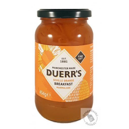 Duerr's Seville Orange Breakfast Marmalade Narancslekvár 454g